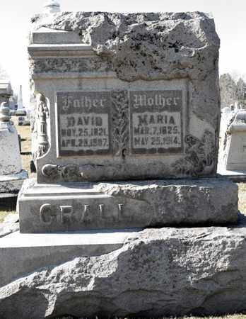 CRALL, MARIA - Richland County, Ohio | MARIA CRALL - Ohio Gravestone Photos