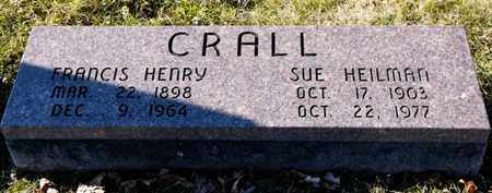HEILMAN CRALL, SUE - Richland County, Ohio | SUE HEILMAN CRALL - Ohio Gravestone Photos