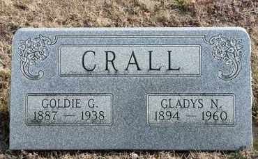 CRALL, GOLDIE G - Richland County, Ohio   GOLDIE G CRALL - Ohio Gravestone Photos