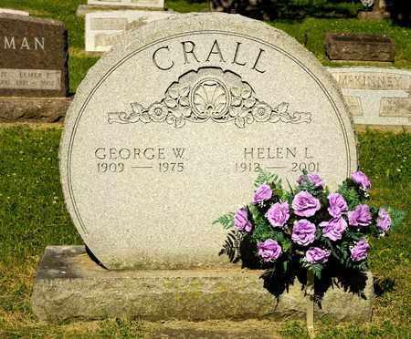 CRALL, GEORGE W - Richland County, Ohio | GEORGE W CRALL - Ohio Gravestone Photos