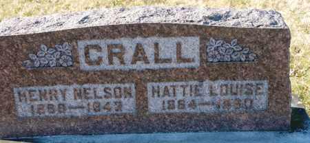 CRALL, HENRY NELSON - Richland County, Ohio   HENRY NELSON CRALL - Ohio Gravestone Photos