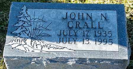 CRALL, JOHN N - Richland County, Ohio | JOHN N CRALL - Ohio Gravestone Photos