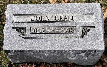 CRALL, JOHN - Richland County, Ohio | JOHN CRALL - Ohio Gravestone Photos
