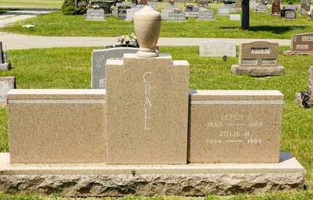 CRALL, ZULIE M - Richland County, Ohio | ZULIE M CRALL - Ohio Gravestone Photos