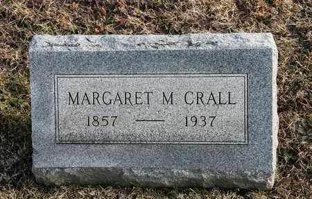 CRALL, MARGARET M - Richland County, Ohio   MARGARET M CRALL - Ohio Gravestone Photos