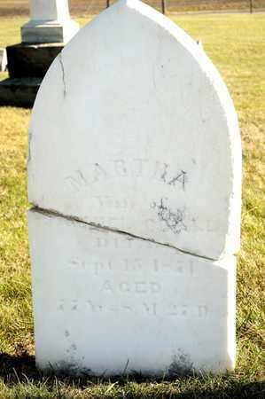 CRALL, MARTHA - Richland County, Ohio | MARTHA CRALL - Ohio Gravestone Photos