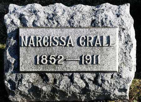 CRALL, NARCISSA - Richland County, Ohio | NARCISSA CRALL - Ohio Gravestone Photos