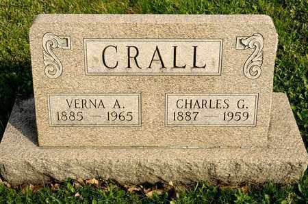 CRALL, CHARLES G - Richland County, Ohio   CHARLES G CRALL - Ohio Gravestone Photos