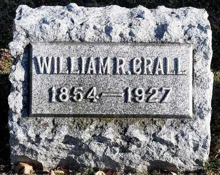 CRALL, WILLIAM R - Richland County, Ohio   WILLIAM R CRALL - Ohio Gravestone Photos