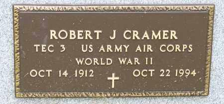 CRAMER, ROBERT J - Richland County, Ohio | ROBERT J CRAMER - Ohio Gravestone Photos