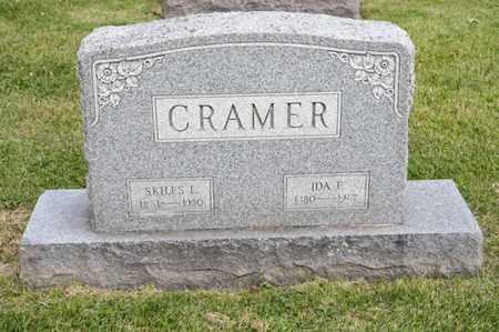 CRAMER, IDA F - Richland County, Ohio   IDA F CRAMER - Ohio Gravestone Photos