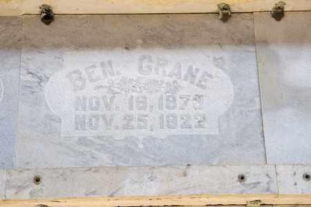 CRANE, BEN - Richland County, Ohio   BEN CRANE - Ohio Gravestone Photos
