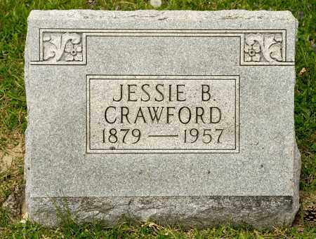 CRAWFORD, JESSIE B - Richland County, Ohio   JESSIE B CRAWFORD - Ohio Gravestone Photos