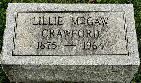 CRAWFORD, LILLIE - Richland County, Ohio | LILLIE CRAWFORD - Ohio Gravestone Photos