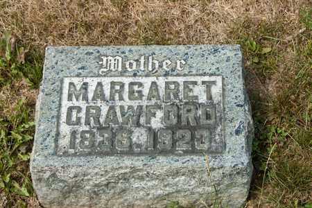 CRAWFORD, MARGARET - Richland County, Ohio | MARGARET CRAWFORD - Ohio Gravestone Photos
