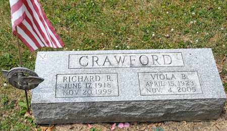 CRAWFORD, VIOLA B - Richland County, Ohio | VIOLA B CRAWFORD - Ohio Gravestone Photos