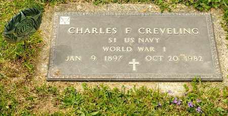 CREVELING, CHARLES F - Richland County, Ohio   CHARLES F CREVELING - Ohio Gravestone Photos