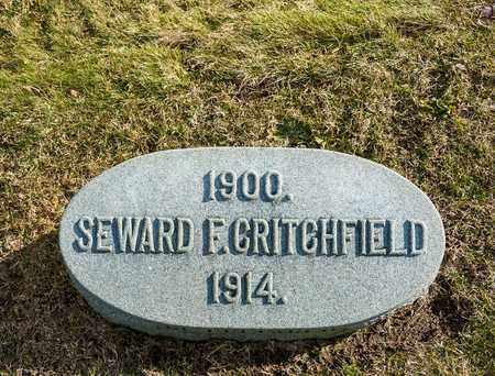 CRITCHFIELD, SEWARD F - Richland County, Ohio | SEWARD F CRITCHFIELD - Ohio Gravestone Photos