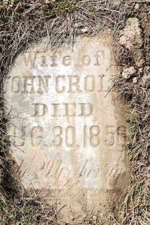 CROLL, SUSAN - Richland County, Ohio | SUSAN CROLL - Ohio Gravestone Photos