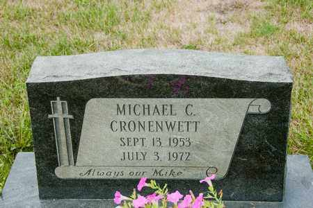 CRONENWETT, MICHAEL C - Richland County, Ohio | MICHAEL C CRONENWETT - Ohio Gravestone Photos