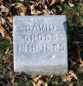 CROSS, DAVID - Richland County, Ohio   DAVID CROSS - Ohio Gravestone Photos