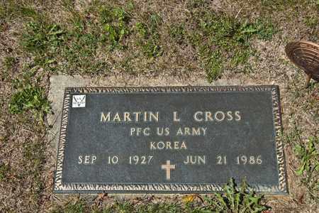CROSS, MARTIN L - Richland County, Ohio   MARTIN L CROSS - Ohio Gravestone Photos
