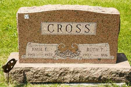 CROSS, PAUL E - Richland County, Ohio | PAUL E CROSS - Ohio Gravestone Photos