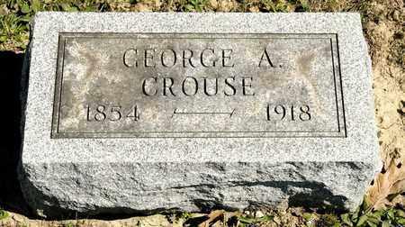 CROUSE, GEORGE A - Richland County, Ohio | GEORGE A CROUSE - Ohio Gravestone Photos