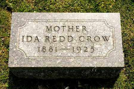 CROW, IDA REDD - Richland County, Ohio   IDA REDD CROW - Ohio Gravestone Photos