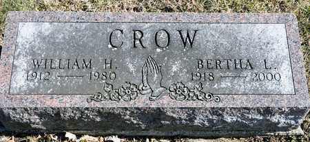 CROW, BERTHA L - Richland County, Ohio | BERTHA L CROW - Ohio Gravestone Photos