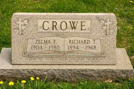 CROWE, RICHARD T - Richland County, Ohio | RICHARD T CROWE - Ohio Gravestone Photos