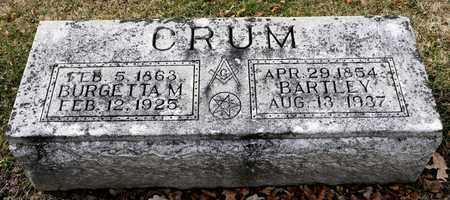 CRUM, BARTLEY - Richland County, Ohio | BARTLEY CRUM - Ohio Gravestone Photos