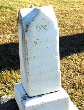 CRUM, CHARLES C - Richland County, Ohio | CHARLES C CRUM - Ohio Gravestone Photos