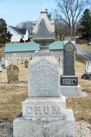 CRUM, J FRANKLIN - Richland County, Ohio | J FRANKLIN CRUM - Ohio Gravestone Photos