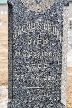 CRUM, JACOB S - Richland County, Ohio | JACOB S CRUM - Ohio Gravestone Photos