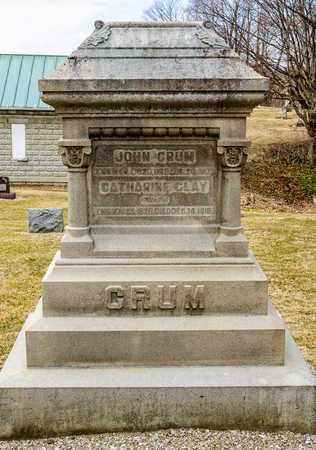 CLAY CRUM, CATHARINE - Richland County, Ohio | CATHARINE CLAY CRUM - Ohio Gravestone Photos