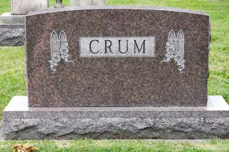 CRUM, RUBY - Richland County, Ohio | RUBY CRUM - Ohio Gravestone Photos