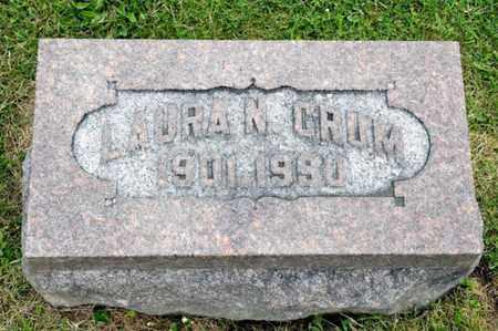 CRUM, LAURA N - Richland County, Ohio   LAURA N CRUM - Ohio Gravestone Photos