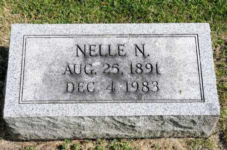 CRUM, NELLE N - Richland County, Ohio | NELLE N CRUM - Ohio Gravestone Photos