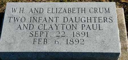 CRUM, CLAYTON PAUL - Richland County, Ohio | CLAYTON PAUL CRUM - Ohio Gravestone Photos
