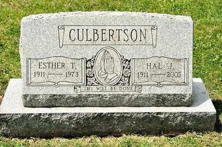 CULBERTSON, HAL J - Richland County, Ohio | HAL J CULBERTSON - Ohio Gravestone Photos