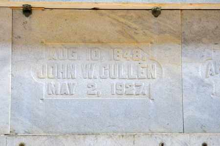 CULLEN, JOHN W - Richland County, Ohio | JOHN W CULLEN - Ohio Gravestone Photos