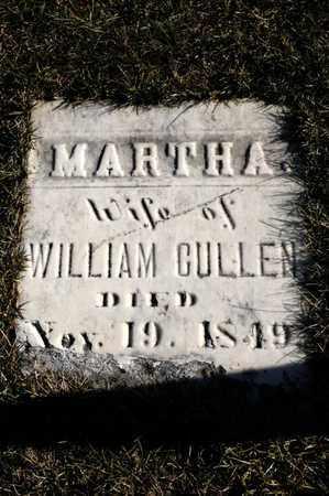CULLEN, MARTHA - Richland County, Ohio | MARTHA CULLEN - Ohio Gravestone Photos