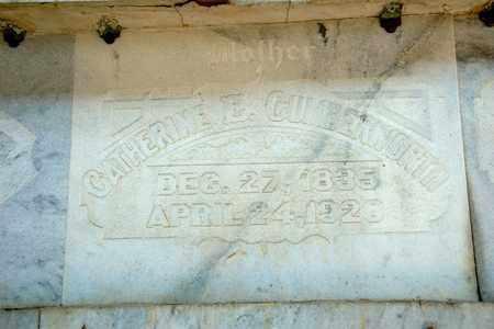 CUMBERWORTH, CATHERINE E - Richland County, Ohio | CATHERINE E CUMBERWORTH - Ohio Gravestone Photos