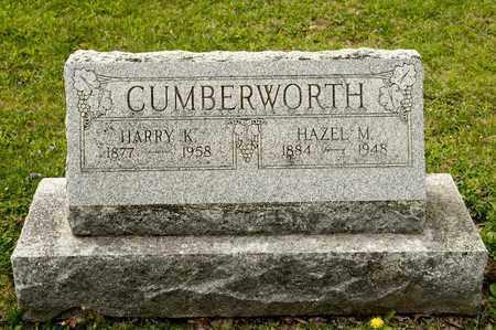 CUMBERWORTH, HARRY K - Richland County, Ohio | HARRY K CUMBERWORTH - Ohio Gravestone Photos