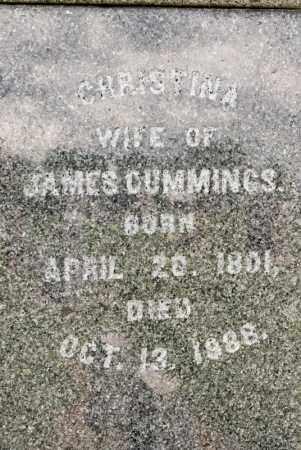 CUMMINGS, CHRISTINA - Richland County, Ohio | CHRISTINA CUMMINGS - Ohio Gravestone Photos