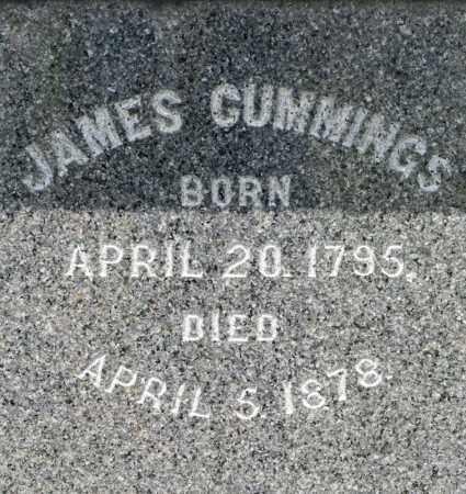 CUMMINGS, JAMES - Richland County, Ohio | JAMES CUMMINGS - Ohio Gravestone Photos