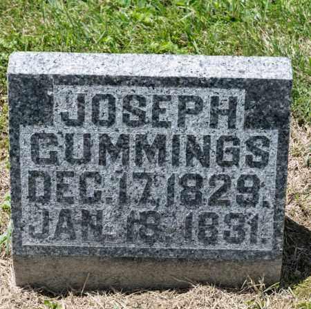 CUMMINGS, JOSEPH - Richland County, Ohio   JOSEPH CUMMINGS - Ohio Gravestone Photos