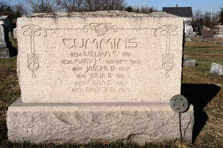 CUMMINS, CORA E - Richland County, Ohio | CORA E CUMMINS - Ohio Gravestone Photos