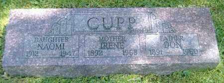 CUPP, NAOMI E. - Richland County, Ohio | NAOMI E. CUPP - Ohio Gravestone Photos